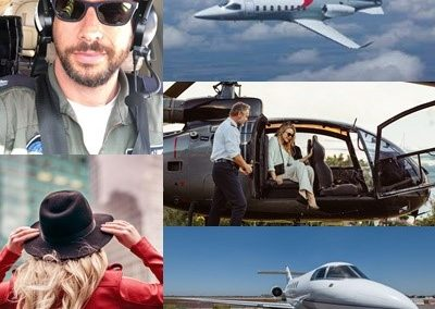 Private Jets, Helicopters